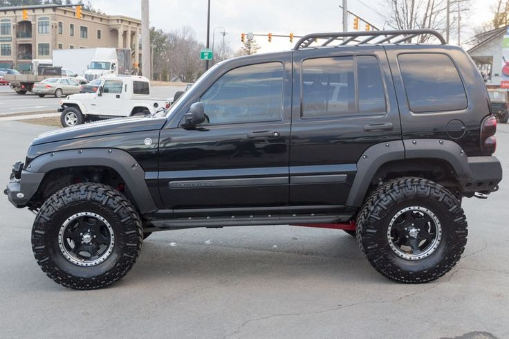 jeep renegade lifted | 2005 Jeep Liberty Renegade 4x4 Black