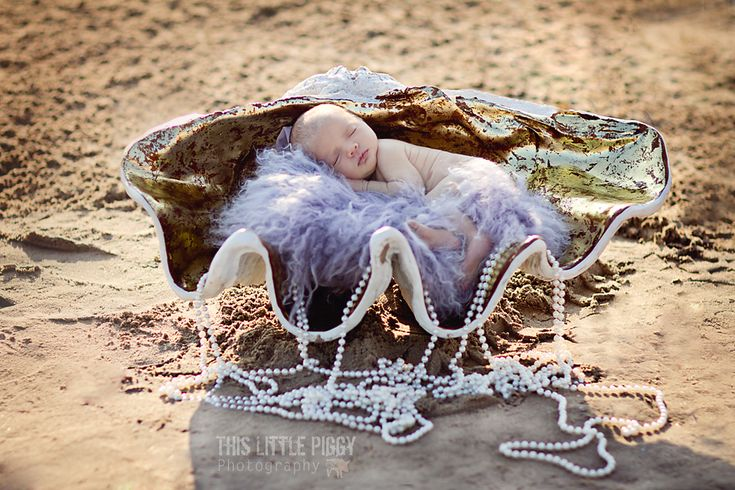Photographer Spotlight:  Julie Aktabowski. Mermaid baby :)