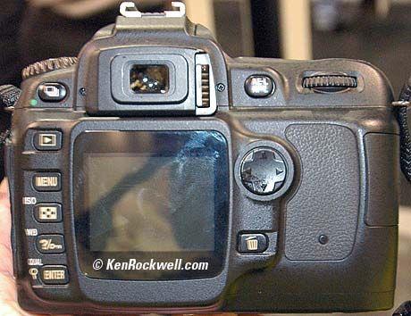 Nikon D50 rear