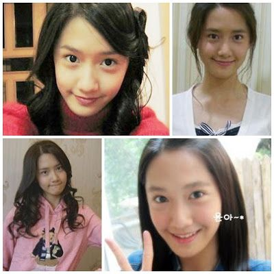 snsd yoona pre debut pictures