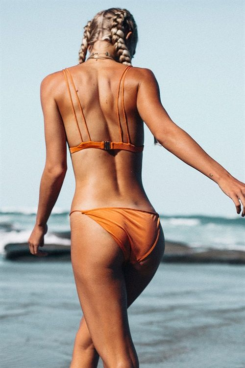 Speck Bikini - Rust - Swimwear by Sabo Luxe | SABO SKIRT