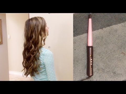▶ Remington Curling Wand Review and Tutorial - YouTube