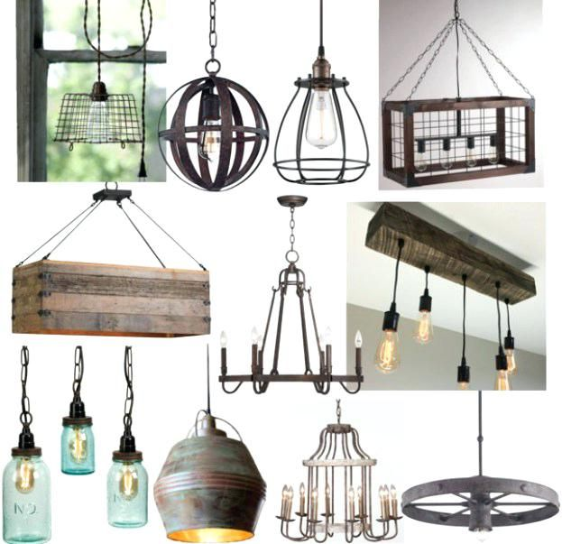 Rustic And Lighting In The