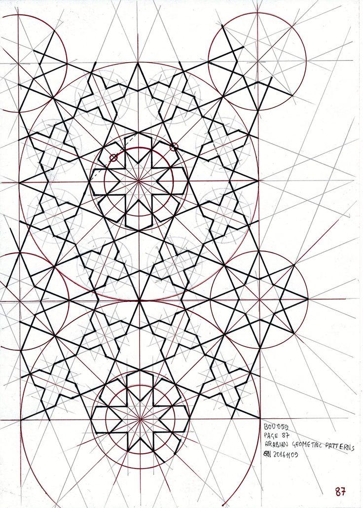 Bou059 #islamicdesign #islamicart #islamicpattern #arabiangeometry #symmetry #geometry #tessellation #mathart #handmade #star #circle #regolo54