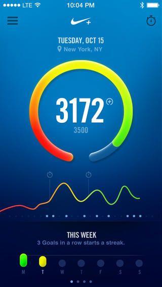APP: Nike+ FuelBand (iOS)