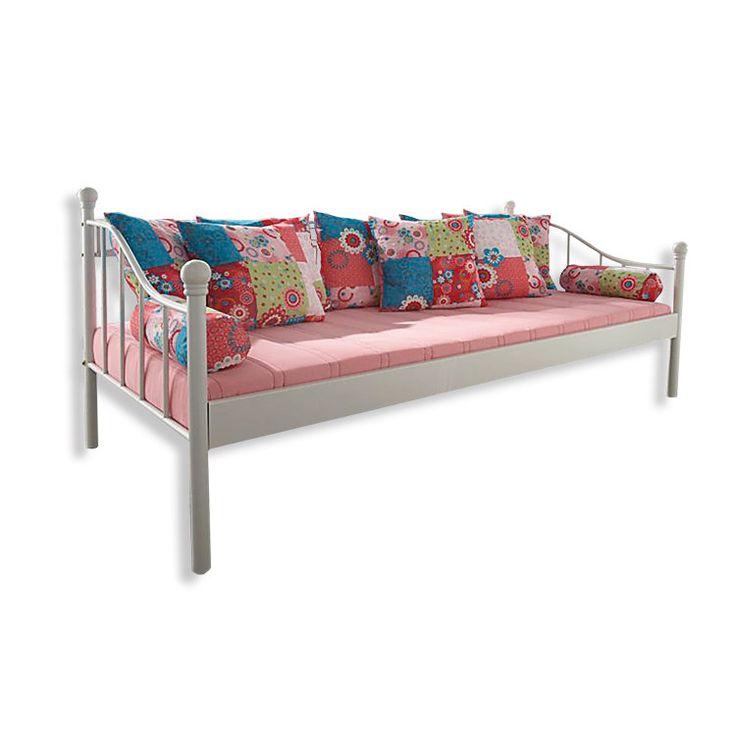Schau Mal Was Ich Bei Roller Gefunden Habe Metallbett Tagesbett Weiss 90x200 Cm Bett Outdoor Sofa Bettgestell
