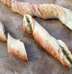 knuspriges Kräuterbaguette :: Melierecipes