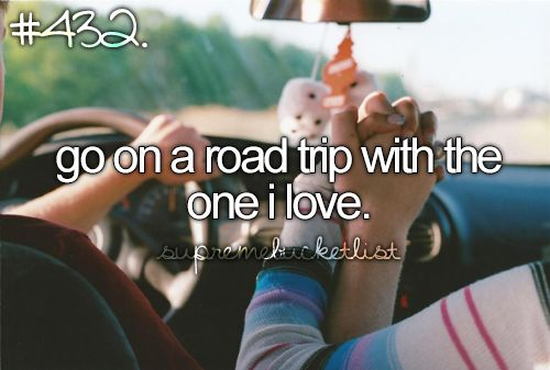 I just really love road trips. Especially to the mountains. :):)