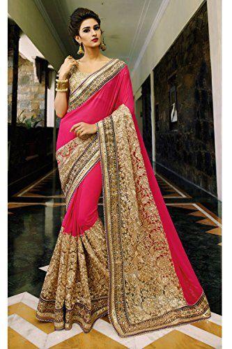 Colour Trendz Indian Pink & Golden Heavy Georgett Saree C... http://www.amazon.in/dp/B01H338K0S/ref=cm_sw_r_pi_dp_x_xA1ayb0MNM6CK