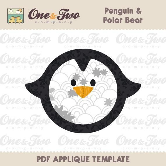 93 best printable templates images on Pinterest Fabric painting - penguin template