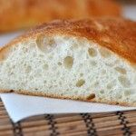 Homemade Ciabatta Bread {And The Best Garlic Bread On Earth}