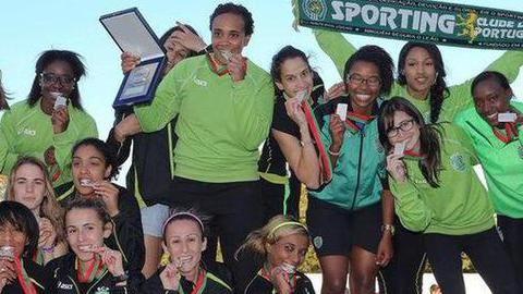 Sporting campeão europeu de atletismo feminino