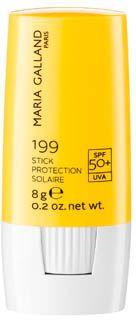 """Stick Protecteur 199 (SPF 50+)  Der Sonnenstift mit Lichtschutzfaktor 50+ schützt besonders sonnenempfindliche Stellen, die so genannten """"Sonnenterrassen"""" wie Nasenrücken, Augenpartie, Ohren oder die Schultern. Er ist leicht und schnell aufzutragen und verläuft nicht. http://www.best-kosmetik.de/marken/maria-galland/sonnenpflege/stick-protecteur-199-spf-50.html"""