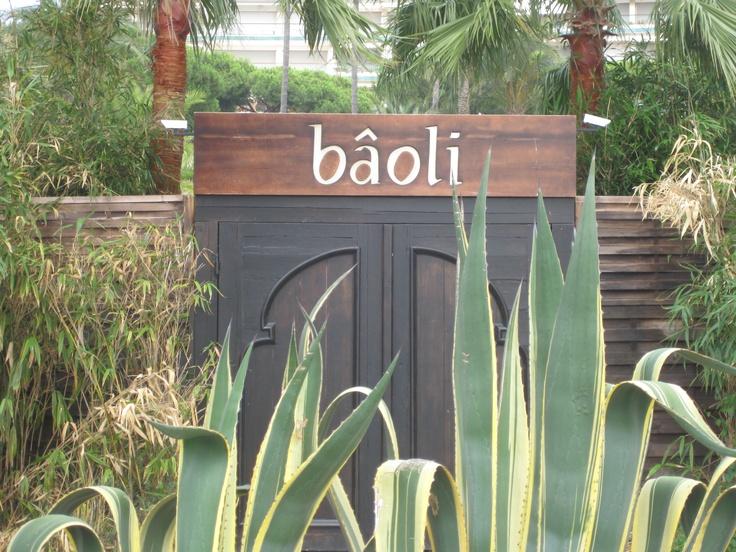 Favorite nightclub ever...Baoli in Cannes