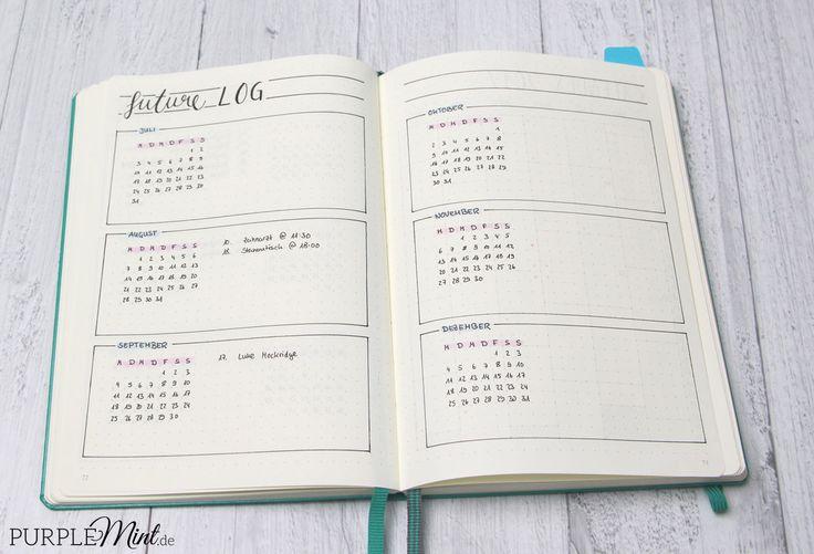 Bullet Journal – auf der Suche nach meinem System