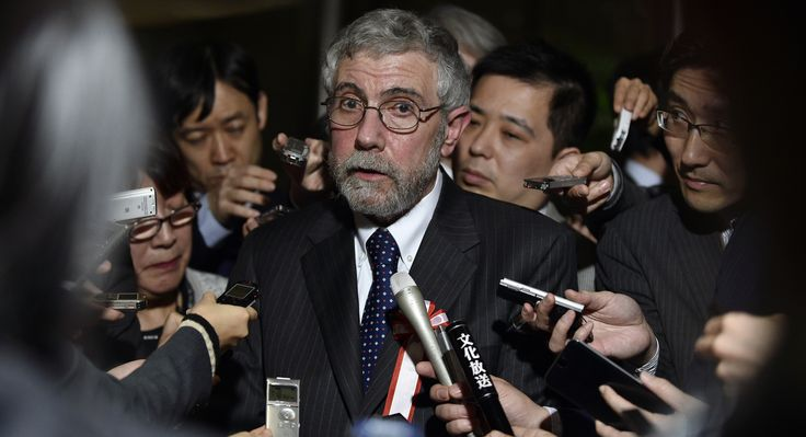 """""""He will bring on Recession."""" Krugman's pessimistic view comes in the wake of a more than 800-point plunge in U.S. stock futures."""