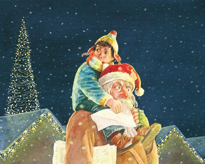 Volgens Tim is de kerstman iemand die Kerstmis met zich meebrengt, dus moet hij eigenlijk: kerstmisman heten. Met zijn moeder zoekt Tim op de drukke kerstmarkt naar de kerstmisman... en Tim vindt hem ook...