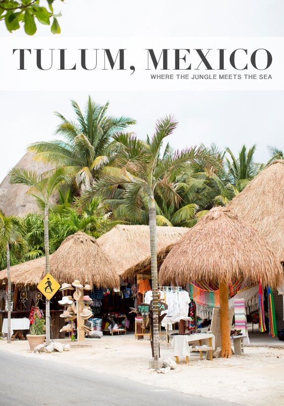 TULUM, WHERE THE JUNGLE MEETS THE SEA - a house in the hills - interiors, style, food, and dogs