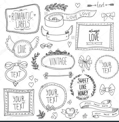 Imagen de doodles and planner