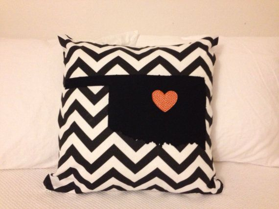 Oklahoma State University Pillow