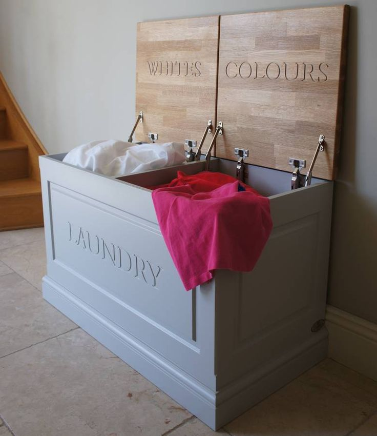 Laundry Box Available In A Choice Of Colours