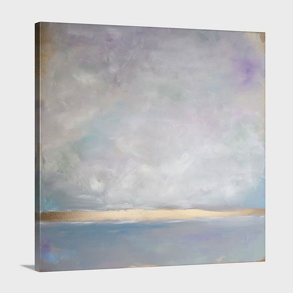 Lavender Smoke - Canvas Print KCS