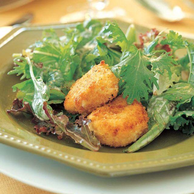 Ina Garten Green Salad: Salad With Warm Goat Cheese