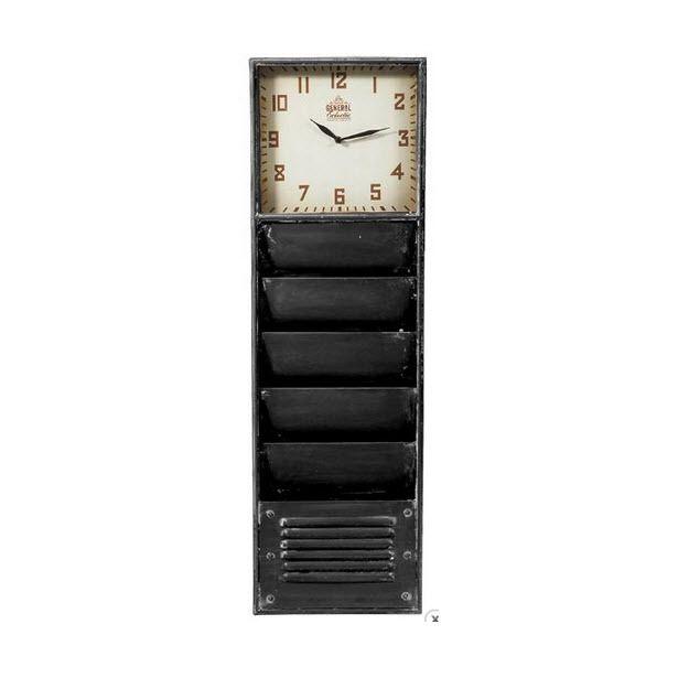 Vavoom Emporium - Industrial Clock / Shelf - Aqua, $184.00 (http://www.vavoom.com.au/industrial-clock-shelf-aqua/)