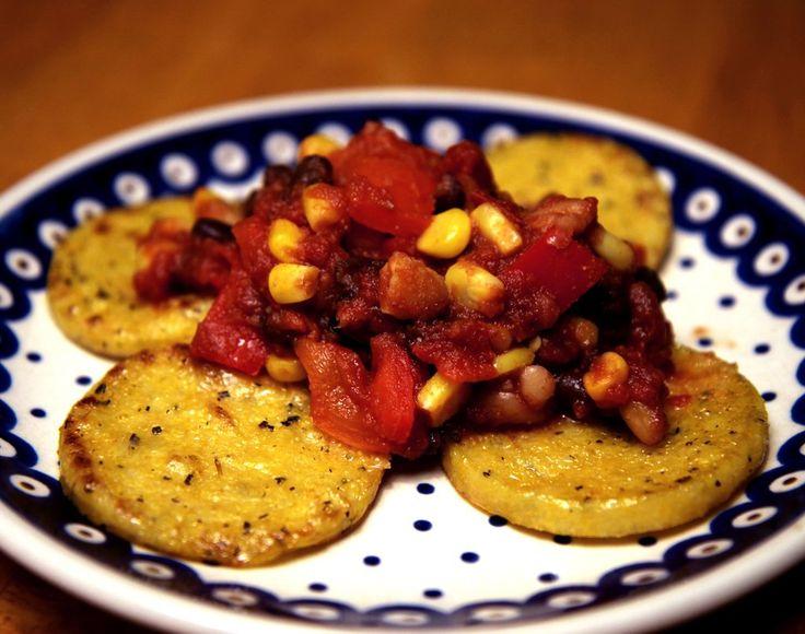 Thursday: Polenta and Beans
