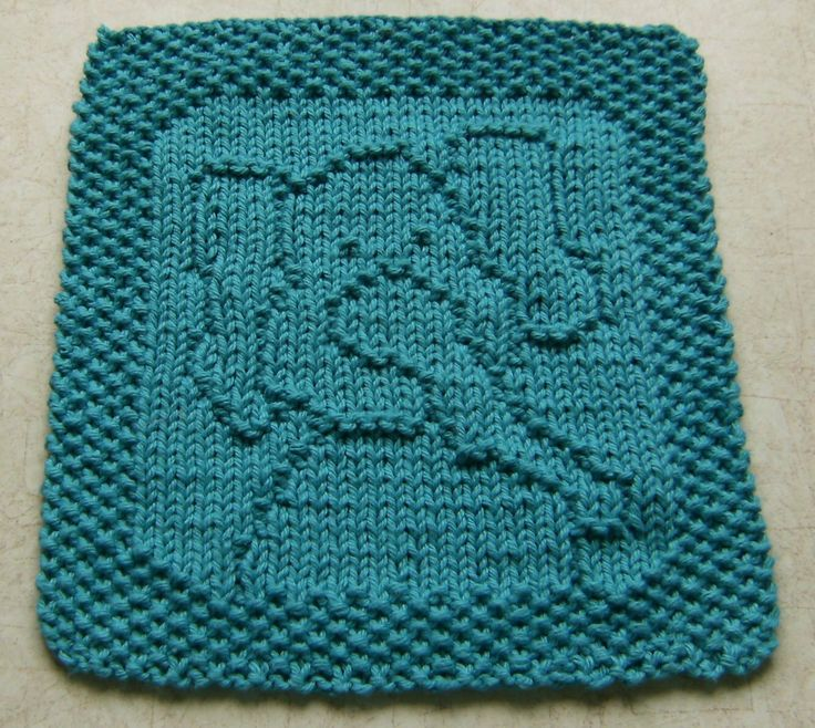 Elephant Washcloth Knitting Pattern : 106 best images about Knit: Washcloths, Potholders, and ...