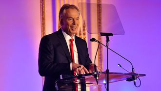 Ask 'Save the Children' to revoke their annual Global Legacy Award given to Tony Blair...seriously, what? Just what the fuck? Saving children, are these people mad? He only wants to save his own bank balance, the man and his wife are a pair of shits! This is one of the reasons I refuse to give money to some of these big name charities.