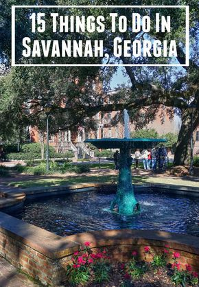 Things to do and sights to see in Savannah, Georgia. From historic Savannah, to points around Savannah, like Wormsloe Historic Site, Forsyth Park, and Bonaventure Cemetery. A must read if you're planning a first visit to Savannah!