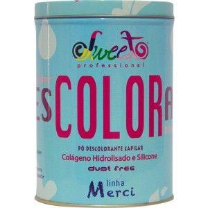 Sweet Hair Mercy Pó Descolorante é um pó descolorante para o clareamento de 7 a 8 tons dos cabelos.