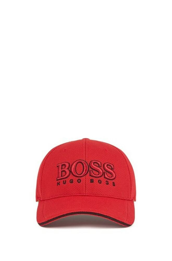 387c3f7a eBay #Sponsored HUGO BOSS baseball Cap baseball pique tech RED Model Cap US  50251244