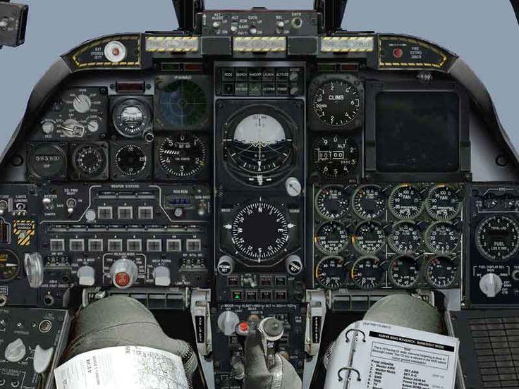 A10 Warthog cockpit A10 Thunderbolt Warthogs