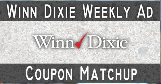 Winn Dixie Weekly Ad Coupon Match Up (10/1 – 10/7) - Check out Winn Dixie's new Quarter Back Event! Buy more and save! Plus, lots of great BOGO deals this week!