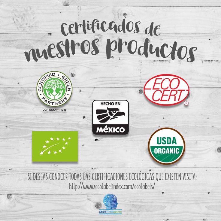 Certificaciones de Nuestros Productos!!!