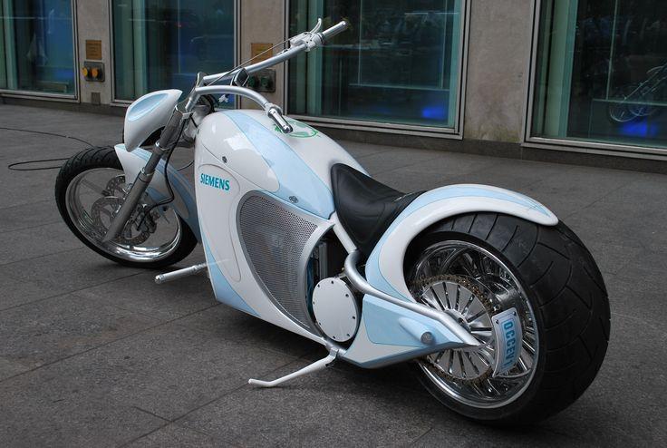 electric bobber motorcycle   Siemens   Motorized Bikes Blog
