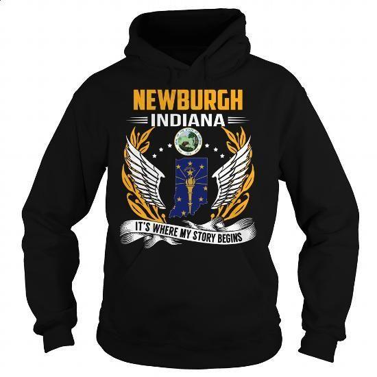 Newburgh, Indiana - Its Where My Story Begins - #long sleeve t shirts #blue hoodie. ORDER HERE => https://www.sunfrog.com/States/Newburgh-Indiana--Its-Where-My-Story-Begins-103155865-Black-Hoodie.html?60505