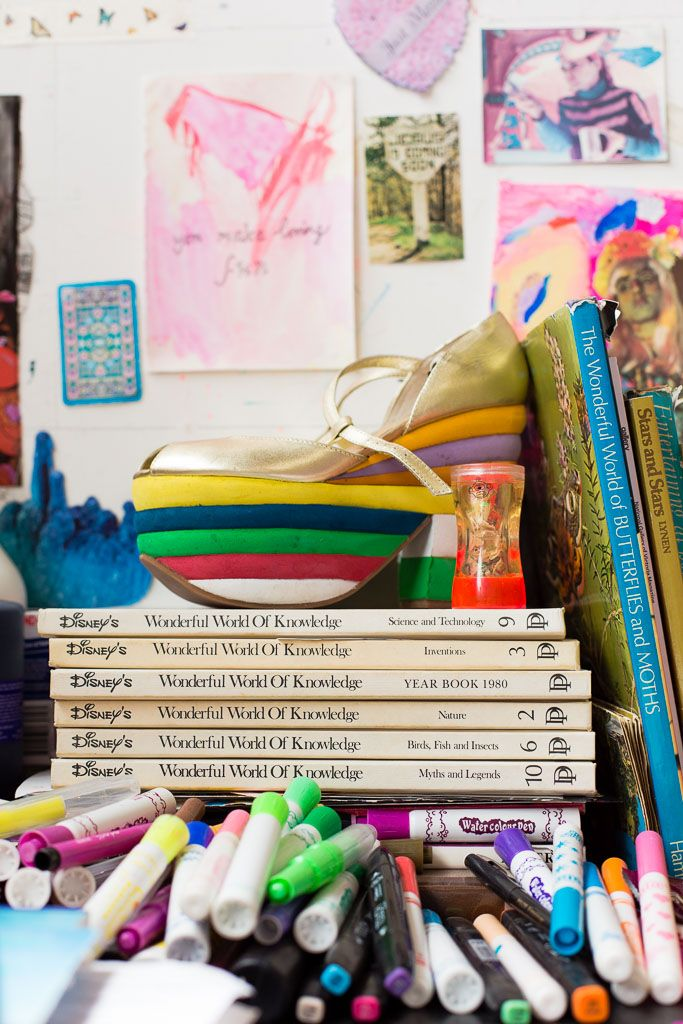A day in the life of artist Minna Gilligan. Photography by Prue Aja for Extraordinary Routines.