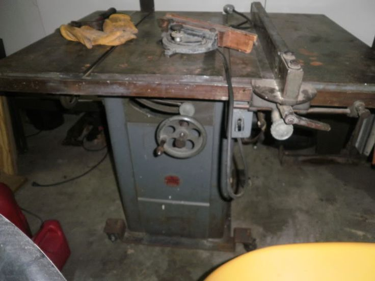 Vintage Woodworking Power Tools