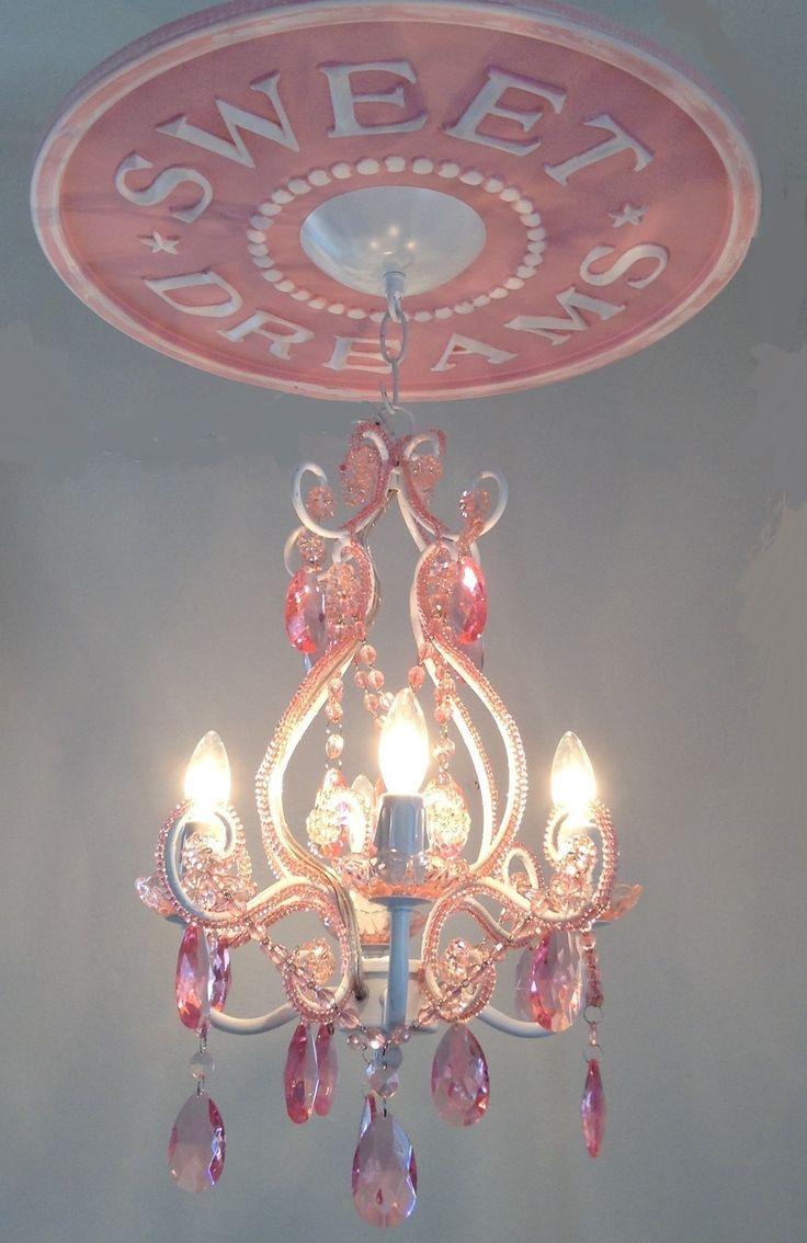 445 best ceiling medallions images on pinterest ceiling ceiling medallion by marie ricci 4 arm pink chandelier available for 165 set for arubaitofo Images