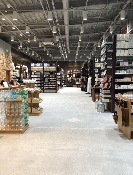 los angeles muji store opening