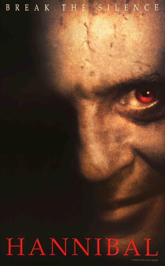 Hannibal (2001) Original One Sheet Movie Poster
