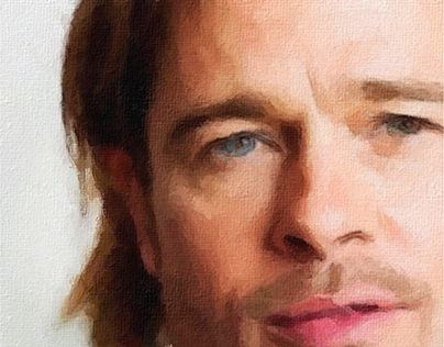 "Check out new work on my @Behance portfolio: ""Brad"" http://be.net/gallery/40947673/Brad"