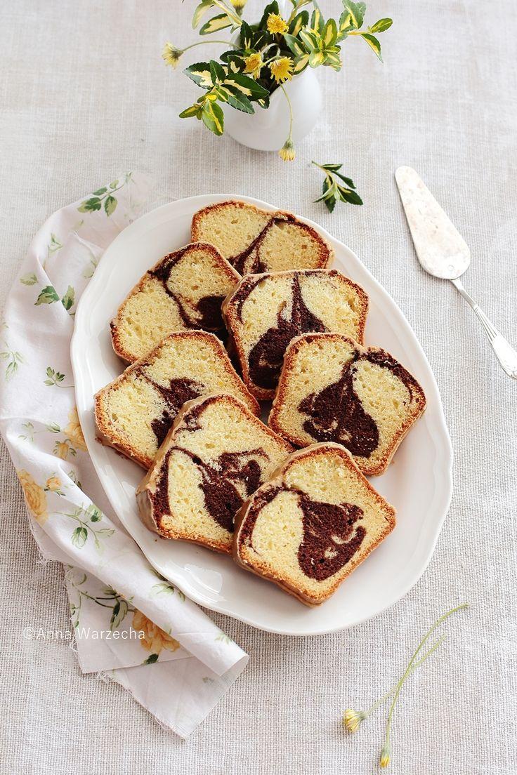 Wiem co jem: Kawowe ciasto marmurkowe
