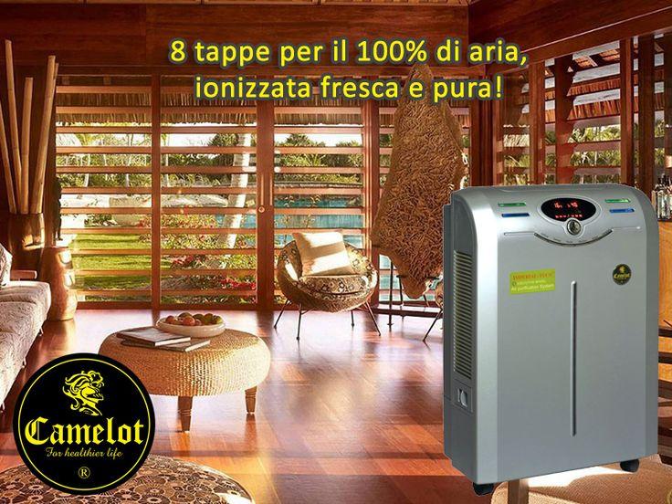 Purificatore dell'aria Imperial Tech Executive! 8 tappe per il 100% di aria ionizzata fresca e pura.