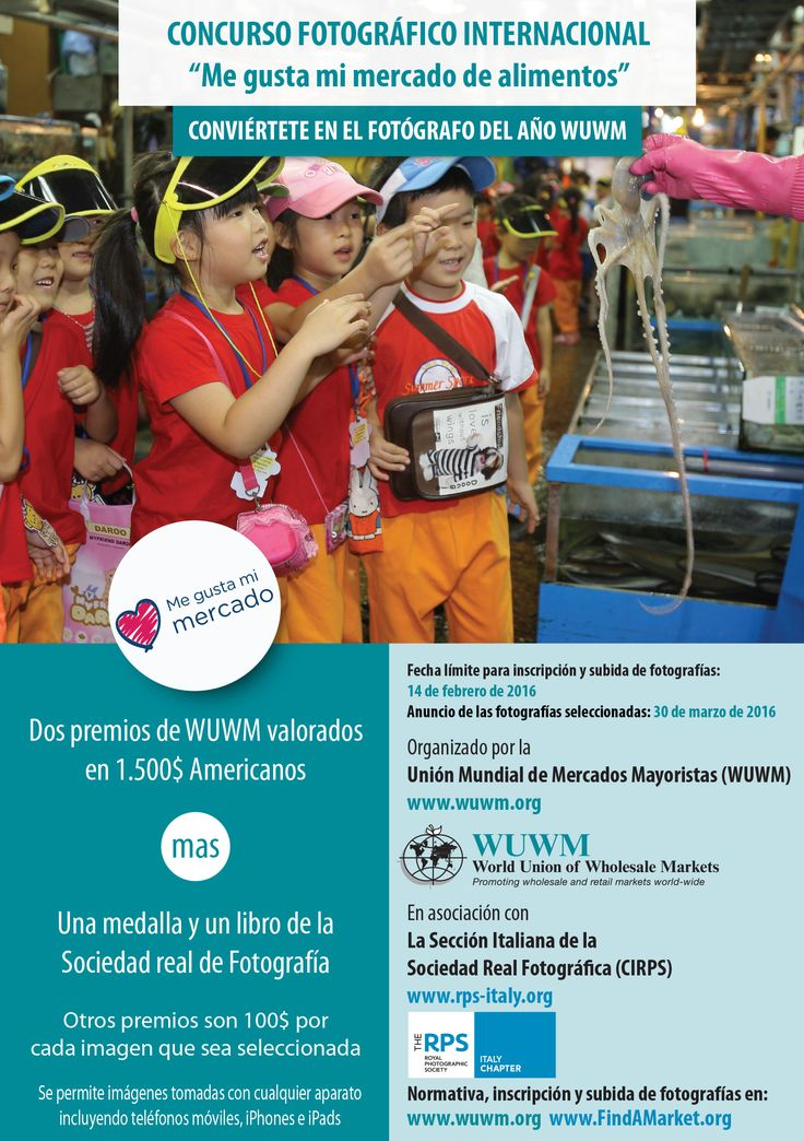 WUWM Photo Competition Flyer in Spanish