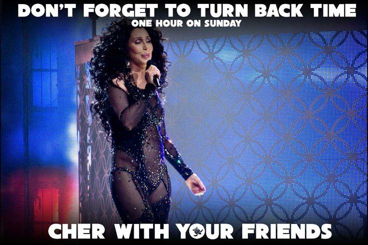 Cher Turn Back Time Meme Daylight Savings