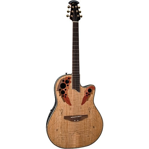 OVATION CELEBRITY CC 057 Acoustic Electric Guitar Review ...